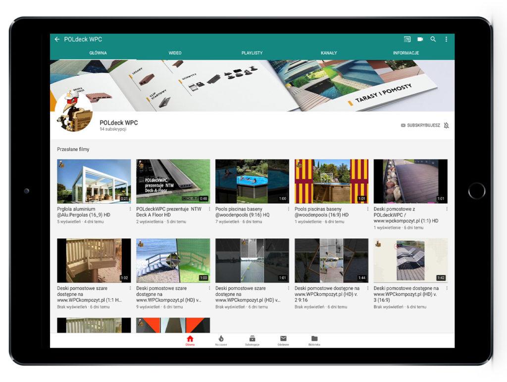 Kompozyt drewna filmy - kanał youtube