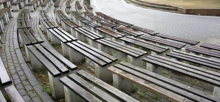 Ławki parkowe i ławki miejskie, które wytrzymają pogodę oraz ludzi