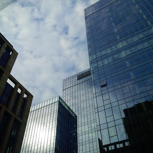 Sky is the limit, czyli kompozyt drewna na dachu wieżowca